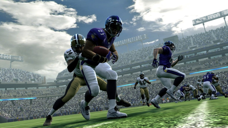 The other major mode is called Madden Moments. This re-creates key