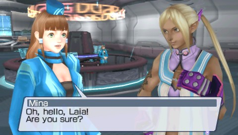 Phantasy Star Portable PSP Review