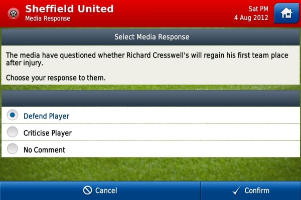 Football Manager Handheld screen 4