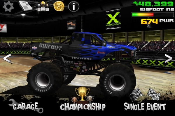 Monster Truck Destruction screen 1