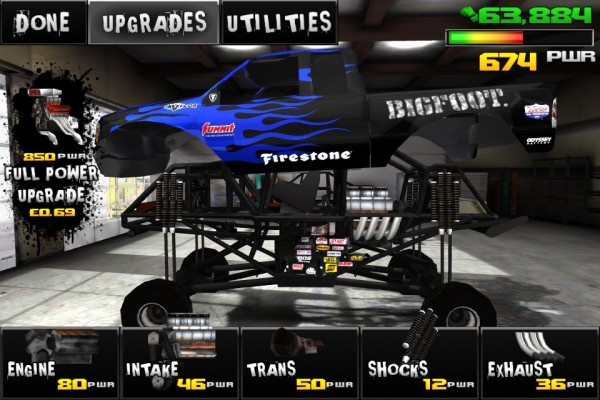 Monster Truck Destruction screen 2