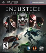 Injustice Gods Among Us boxart
