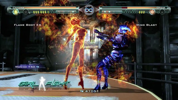 Girl fight ps3 review darkzero