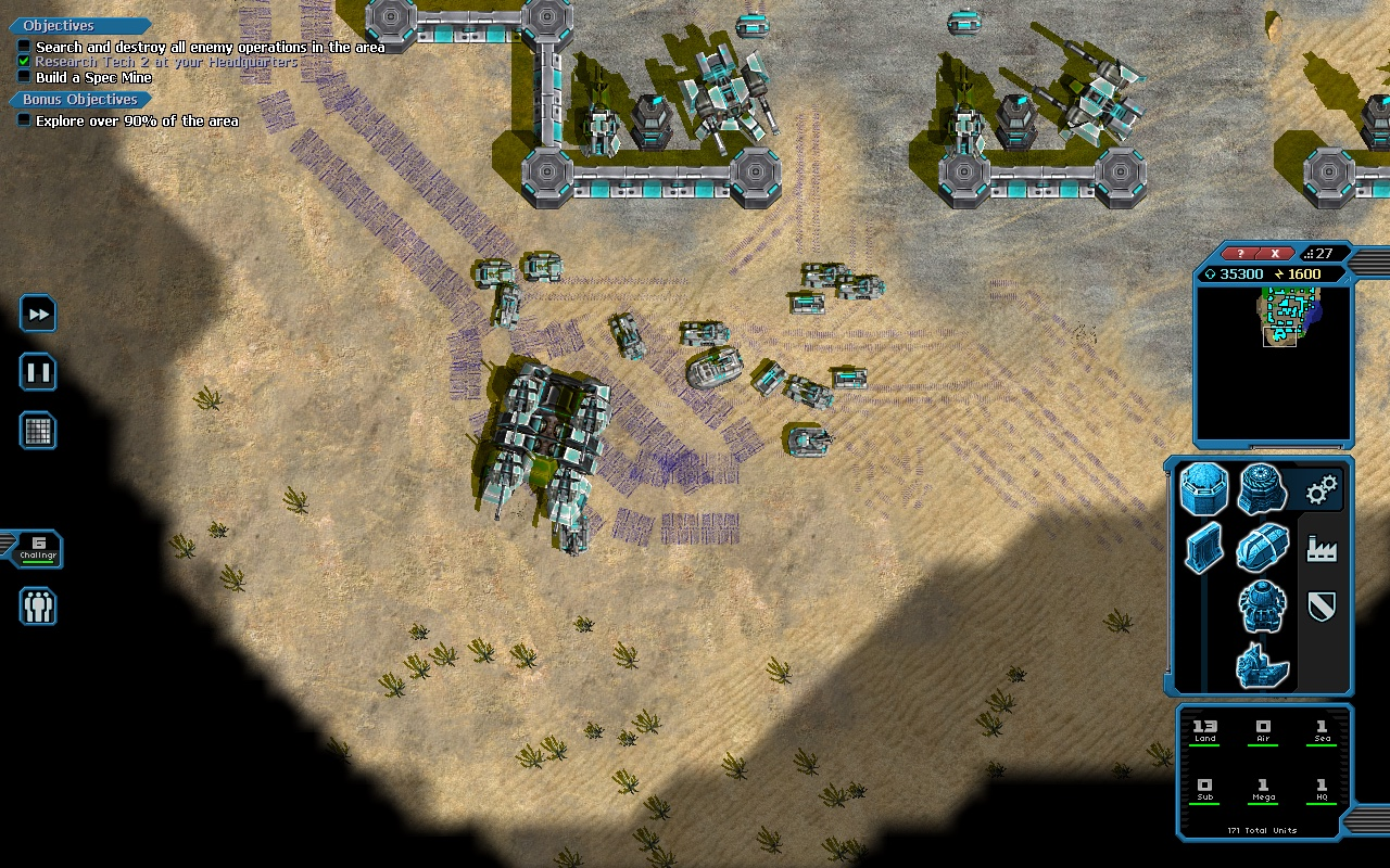 Machines at War 3 - PC - Defence