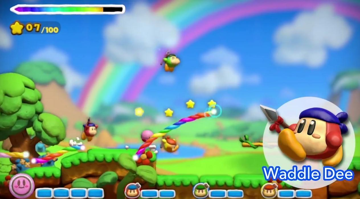 Maybe we can get a Waddle Dee game next time.