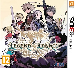 Legend of Legacy Boxart