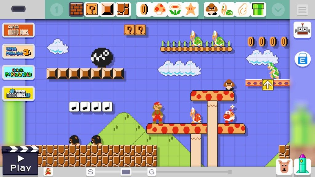 Super Mario Maker was marketed as a Christmas game despite being months old and suffered from crippling stock shortages at UK retail.