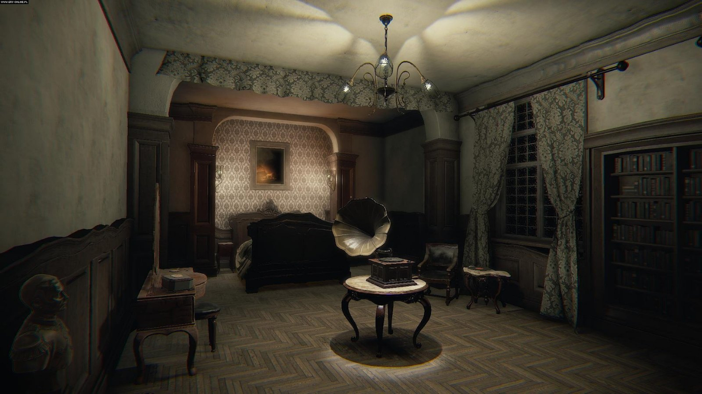 This creepy gramophone features in one of the game's more bizarre mini-puzzles.