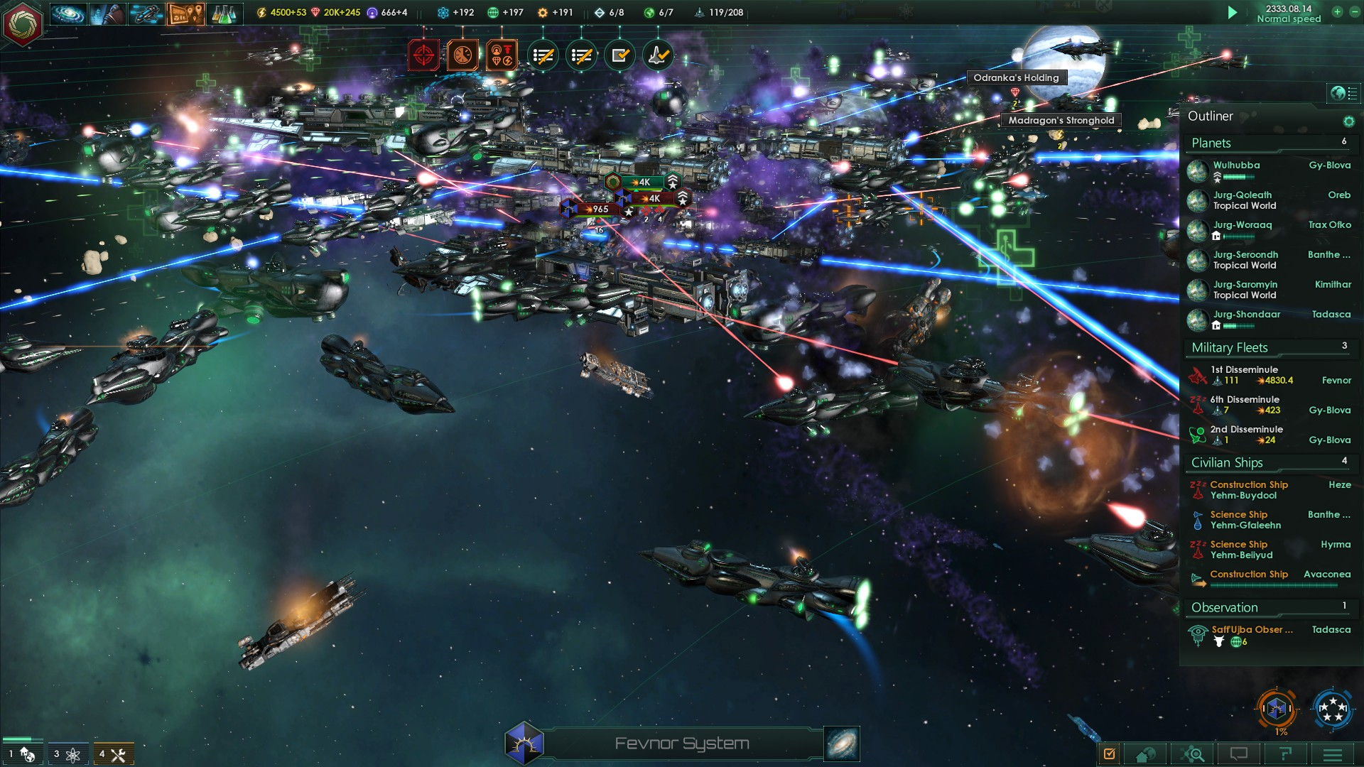 Large fleet battles are pleasingly chaotic – but further diplomatic options would be nice.