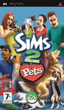 The sims 2 - Pets Sims2pets-psp-box